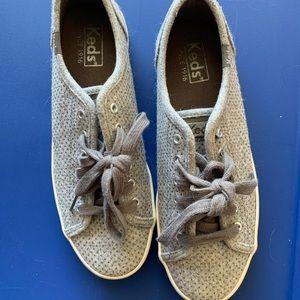 Keds Kickstart Grey Glitter